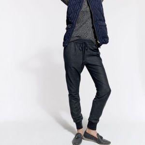 J. CREW Drapey Wool Jogger Pants